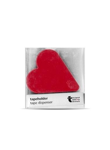 LWP Shop Flying Tiger Kalp Şeklinde Bant Makinesi Kırmızı